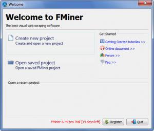 Enlarge FMiner Screenshot