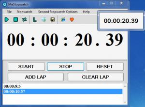 Enlarge MeStopwatch Screenshot