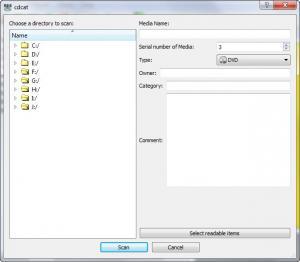 Enlarge CdCat Screenshot