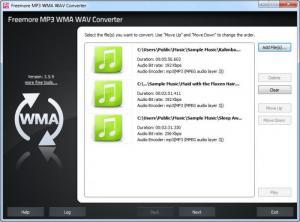 Enlarge Freemore Audio Video Suite Screenshot