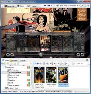 Enlarge ComicRack Screenshot