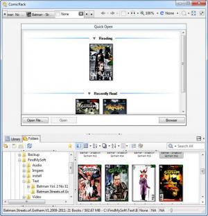 Enlarge ComicRack Screenshot