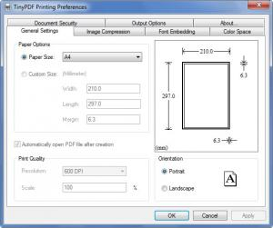 Enlarge TinyPDF Screenshot