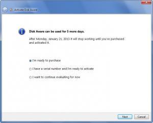Enlarge Disk Aware Screenshot