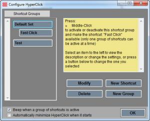 Enlarge HyperClick II Screenshot