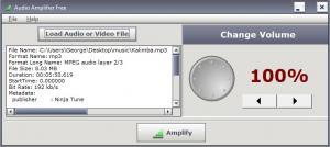 Enlarge Audio Amplifier Free Screenshot