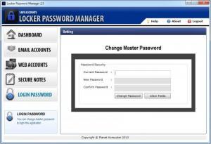 Enlarge Locker Password Manager Screenshot