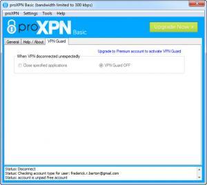Enlarge proXPN Screenshot