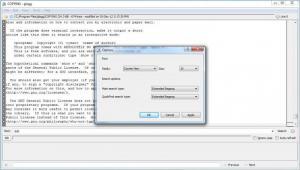 Enlarge glogg Screenshot