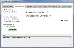 Enlarge TechString Screenshot