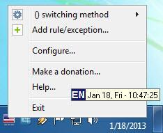 Enlarge Key Switcher Screenshot