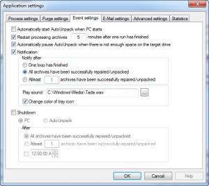 Enlarge AutoUnpack Screenshot
