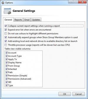 Enlarge NTFS Permissions Reporter Screenshot