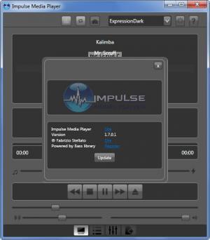 Enlarge Impulse Media Player Screenshot