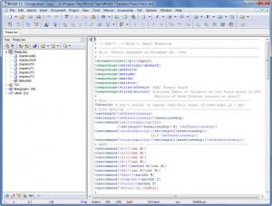 Enlarge WinEdt Screenshot