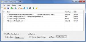 Enlarge Instant File Opener Screenshot