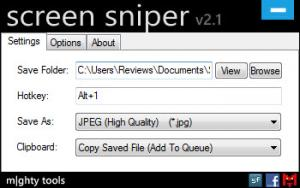 Enlarge Screen Sniper Screenshot