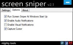 Enlarge Screen Sniper Screenshot