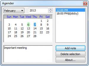 Enlarge Agender Screenshot