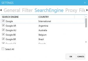 Enlarge Email Extractor Lux Screenshot