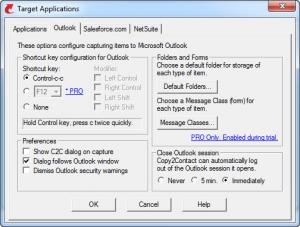 Enlarge Copy2Contact Screenshot