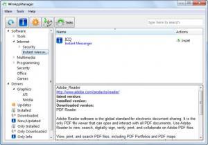 Enlarge WinApp Manager Screenshot