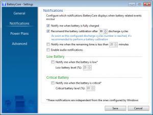Enlarge BatteryCare Screenshot