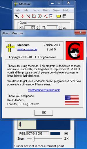 Enlarge Meazure Screenshot