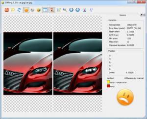 Enlarge DiffImg Screenshot