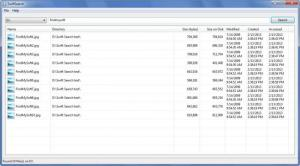 Enlarge SwiftSearch Screenshot