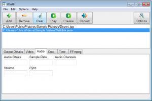 Enlarge WinFF Screenshot
