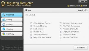 Enlarge Registry Recycler Screenshot
