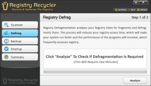 Enlarge Registry Recycler Screenshot
