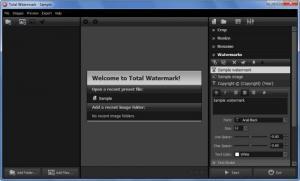 Enlarge Total Watermark Screenshot