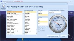Enlarge Crave World Clock Screenshot