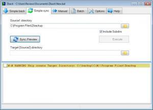 Enlarge Zback Screenshot