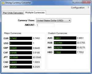 Enlarge Strong Currency Converter Screenshot