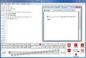 Enlarge MC Musiceditor Screenshot