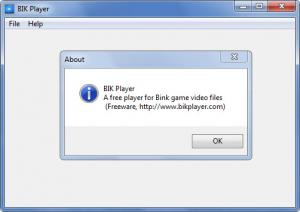 Enlarge BIK Player Screenshot