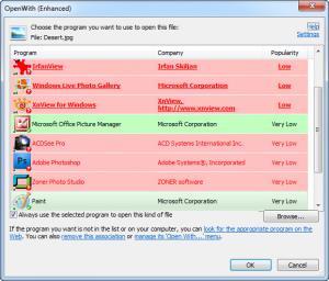 Enlarge OpenWith Enhanced Screenshot