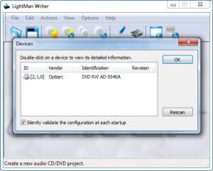 Enlarge LightMan Writer Screenshot