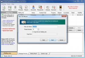Enlarge Bulk Email Solution Screenshot