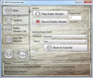 Enlarge MP3 Transformer Screenshot