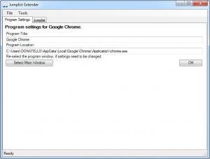 Enlarge Jumplist Extender Screenshot