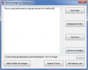 Enlarge Text to Image Screenshot