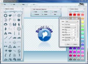 Enlarge Jeta Logo Designer Screenshot