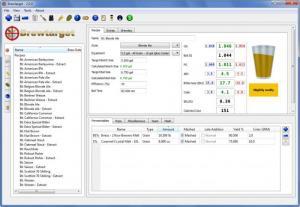 Enlarge Brewtarget Screenshot
