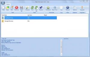 Enlarge Real Time Sync Screenshot