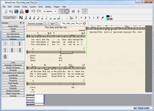 Enlarge MuseScore Screenshot