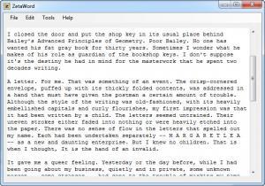 Enlarge ZetaWord Screenshot